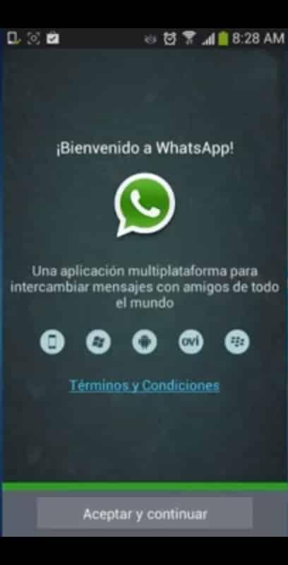 bienvenida whatsapp