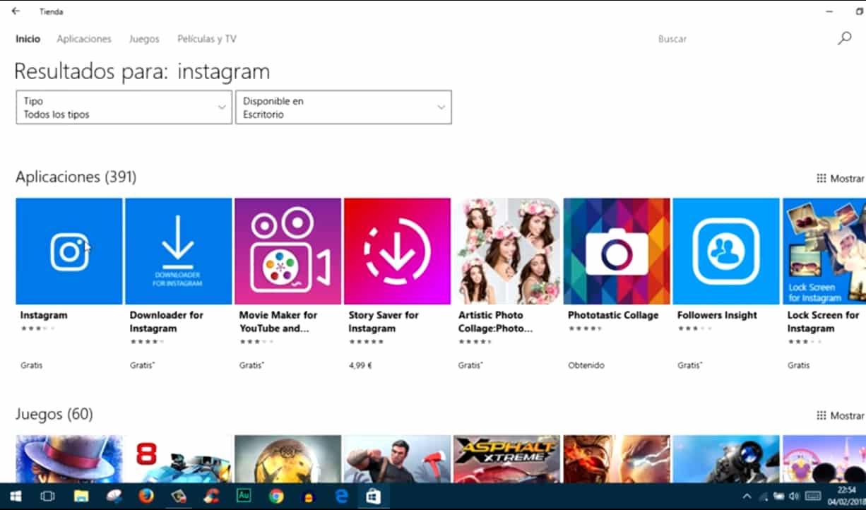 Windows Web Store App