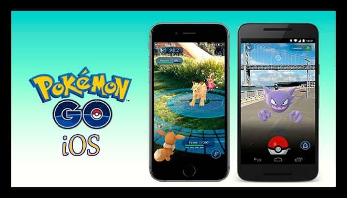 Pokemon Go pour ios