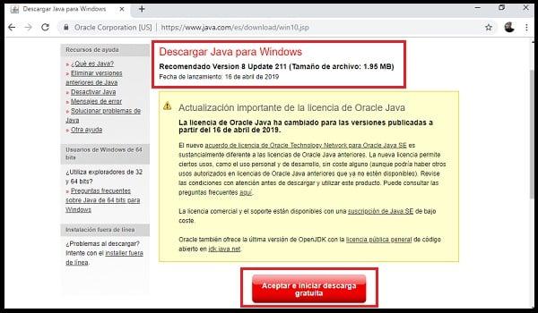 Télécharger Java