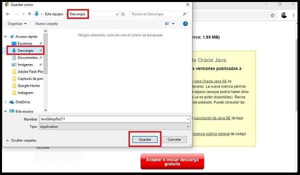 Enregistrer le fichier d'installateur