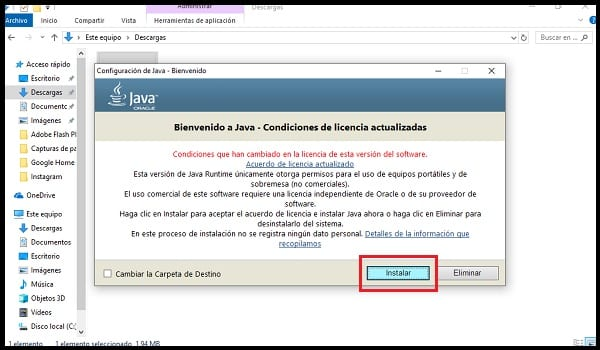 Installer Java