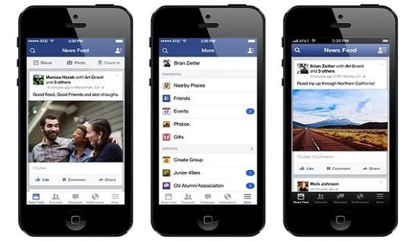 télécharger et installer facebook smartphone