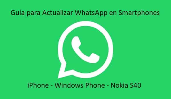 guia para actualizar whatsapp para movil