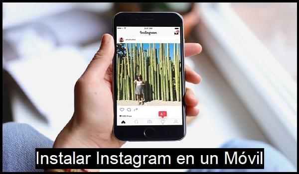 instalar instagram en un movil