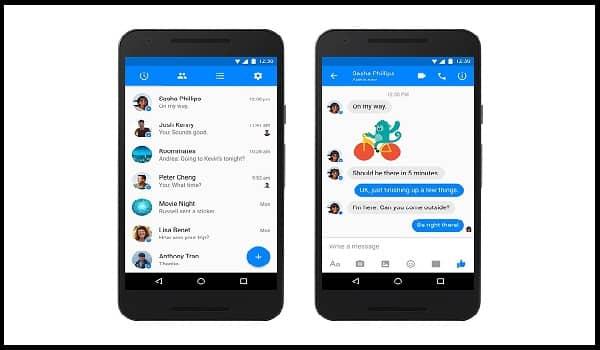 Installieren von Messenger für Mobilgeräte