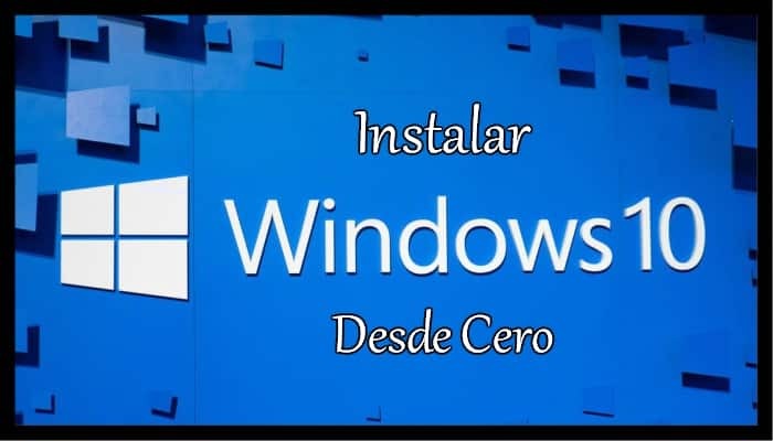 windows10 desde cero